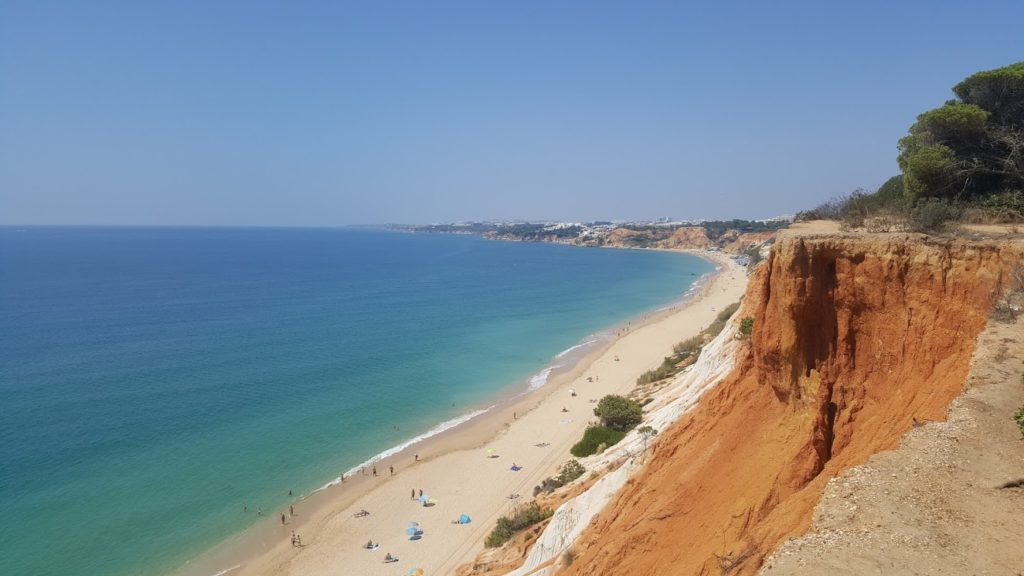 Albufeira on the road: Falesia