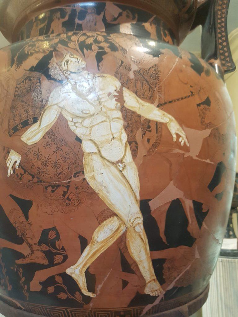 Ruvo di Puglia il vaso di Talos Museo Jatta