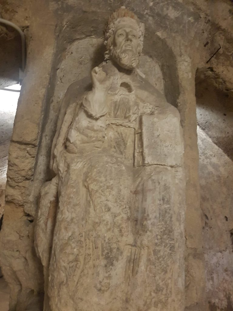 San Cleto fondatore della diocesi ruvestina