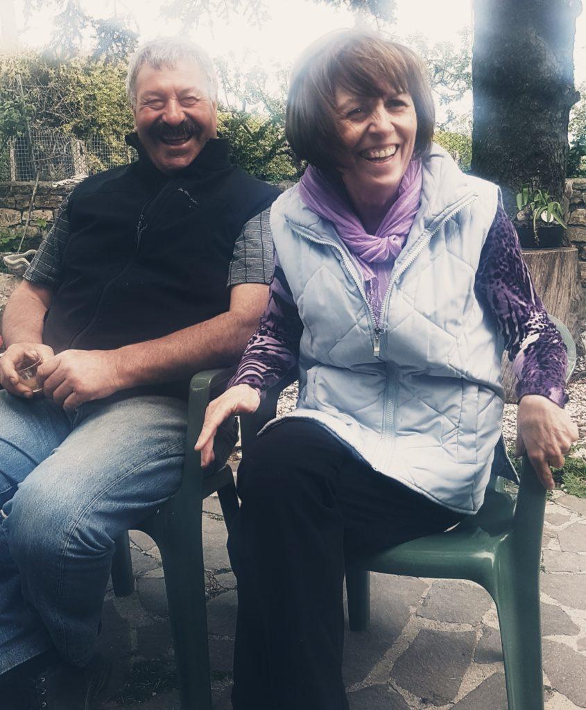 Il pastore casaro Domenico e la moglie Concetta