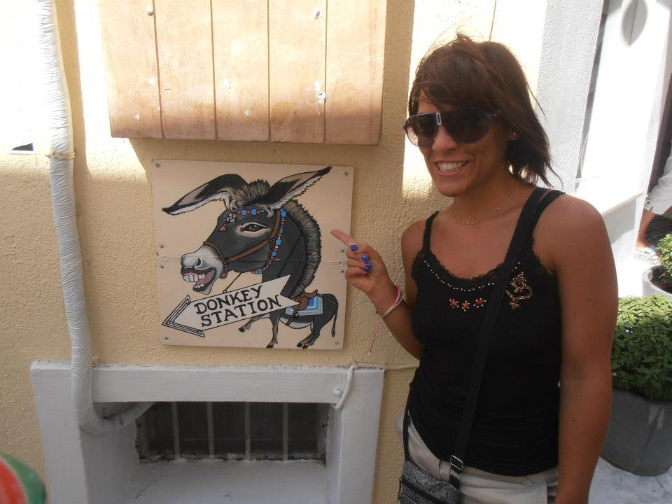 Santorini cosa vedere in un giorno da crocierista: Donkey Station
